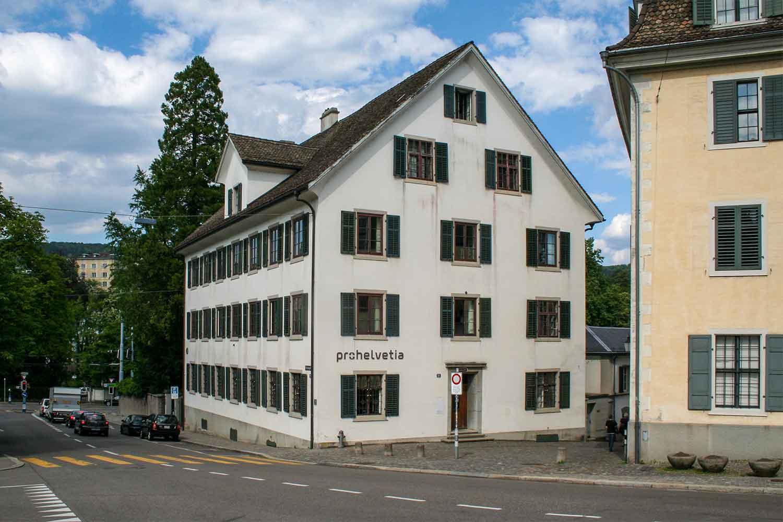 Geschäftsstelle der Pro Helvetia in Zürich