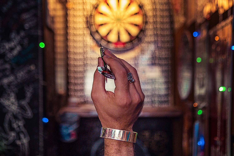 Dart-Spieler