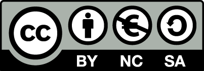 Creative Commons Button: CC-BY-NC-SA
