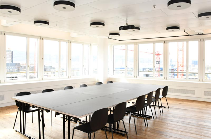 Meeting Room «Skyfall» im Westhive Coworking Space